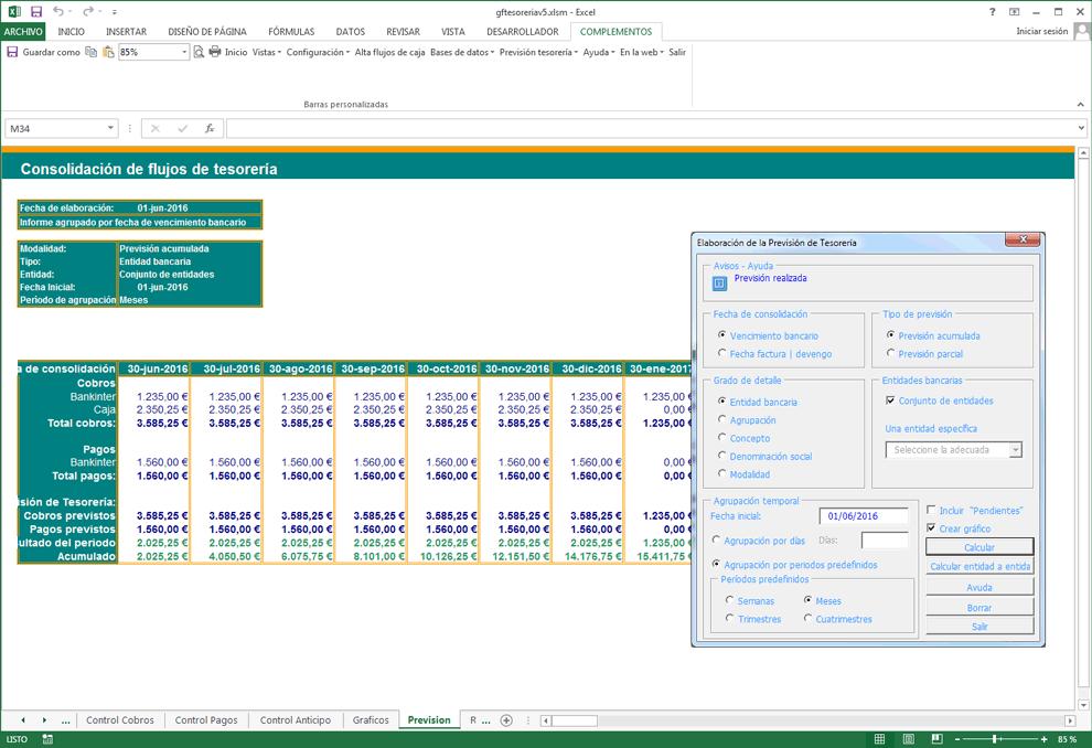 Previsin de tesorera cobros y pagos asesores bancarios y previsin de tesorera cobros y pagos ccuart Image collections